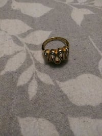 18K gold and white gold ring  Norfolk, 23518