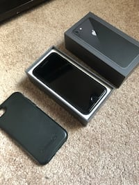 SpacBlack iPhone 8. 64 gb. with otter box only used one month. Practically new Winnipeg, R2C 3A6