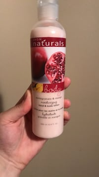 Naturals body lotion all 3
