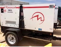 55kw  generator with a 100 gal fuel tank ready to deal