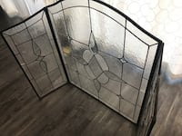 Glass fireplace screen Henderson, 89002