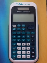TI-34 multiview calculator with case Los Angeles, 91411