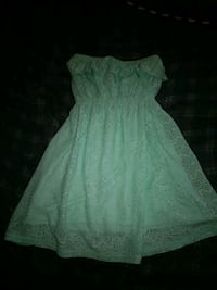 women's green strapless lace dress Washington, 20020