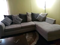 black and gray sectional sofa Austin, 78753
