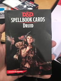 Dungeons and dragons spellbook cards Druid Los Angeles, 91405