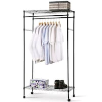 Clothes Rack with wheels(Sturdy) Phoenix