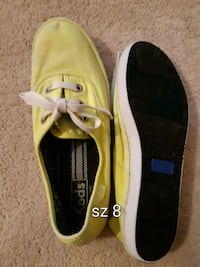 Yellow keds. Excellent condition sz 8 Newcastle