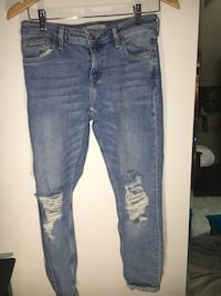BRAND NEW topshop jeans size W25 Central Okanagan, V1P