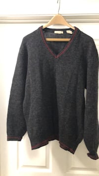 Men's wool sweater. Millstone Township, 08510