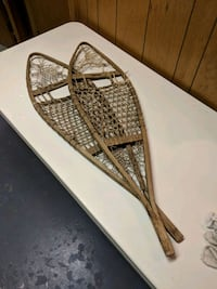Iver Johnson sporting goods antique snow shoes Methuen, 01844