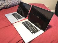 "2 15"" MacBook Pros for sale! Pointe-Claire, H9S"