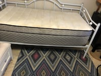 Day bed as is with or without matress obo