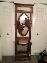 brown wooden framed cheval mirror Charleston, 29407