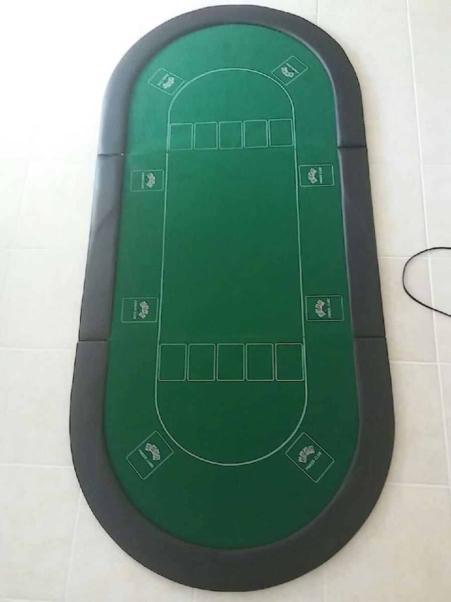 Used ESPN Poker Club table top poker table in Palm Beach Gardens