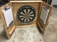 Dartboard sold with or without darts basic darts not competition darts  Lockport, 60441