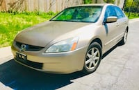 Leather cold Ac ' 2003 Honda Accord ' Priced Cheap   Silver Spring, 20902