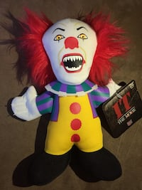 "Pennywise 7"" Plush from IT movie 276 mi"