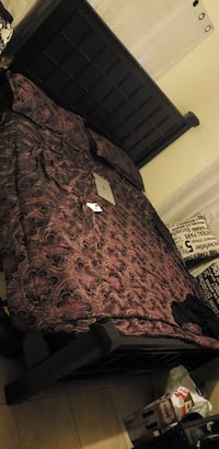 brown and black floral textile San Diego, 92126