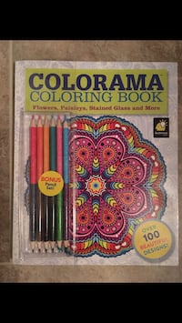 Brand New COLORAMA COLORING BOOK W/ bonus pencil set sell for $25-$35 NOW ONLY $8 DeBary, 32713