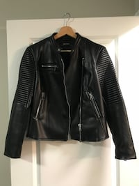 Zara Leather Jacket Toronto, M5R