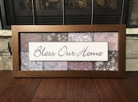 Bless Our Home Rustic Home Decor Sign Innisfil, L9S 2J3