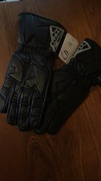 Kevlar Bk Leather MC Gloves Small Smith-Ennismore-Lakefield, K0L