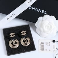 New CC Gold w/ Leather Earring Anaheim, 92804