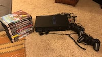 Sony PlayStation 2 with games