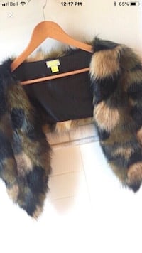 Faux Fur Shawl. One size fits all.  Vaughan