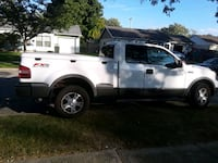 white Ford F-150 extra cab pickup truck Columbus, 43228