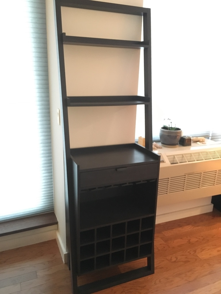 used crate a barrel sloane leaning wine bar for sale in new york rh us letgo com
