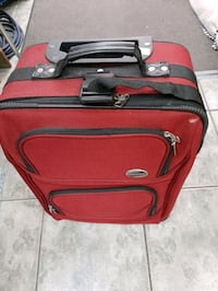 Suitcase on wheels, small $5