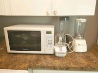 white General Electric microwave oven 529 mi