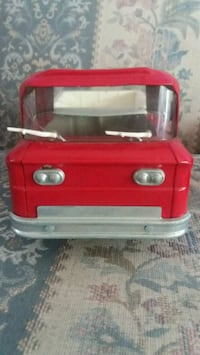 red and white plastic toy car Alexandria, 22309