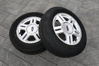 "2 Ford 16"" Rims and Tire For Sale London"