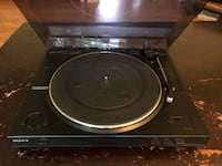 Sony Record Player Centreville