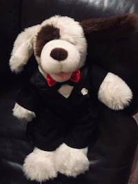 Plush toy - Dog with uniform