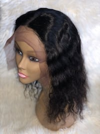 Lace Frontal Wavy Human Hair Wig Baltimore, 21213