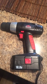 Jobmate 18 volt drill no charger Barrie