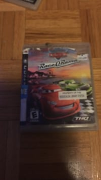Sony PS3 Disney Race O'Rama game case Mississauga, L5B 1E8