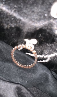 Ring pandora rose hearts new