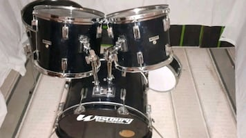 Black Westbury Drum shell pack