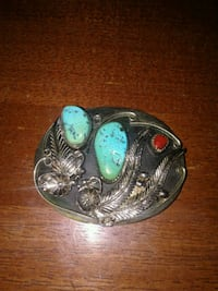 Turquoise belt buckle Willow Park, 76008