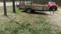 black and brown utility trailer Idlewild, 49642