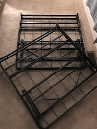 King size folding bed frame (or two twin frames) Lusby, 20657