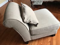 Chaise chairs in beiges color with pillow.  $150 for a set of two.  These are in excellent condition and no stains no smoking house.  Thanks for looking