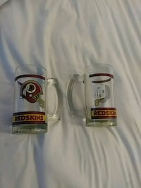 Official Redskins set of 2 glasses Ranson, 25438