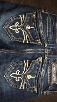 blue Rock Revival denim bottoms Detroit, 48205