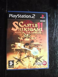 PS2 Castle Shikigami 2 6516 km