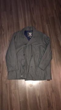 Jacket men's pea coat overcoat xxl.